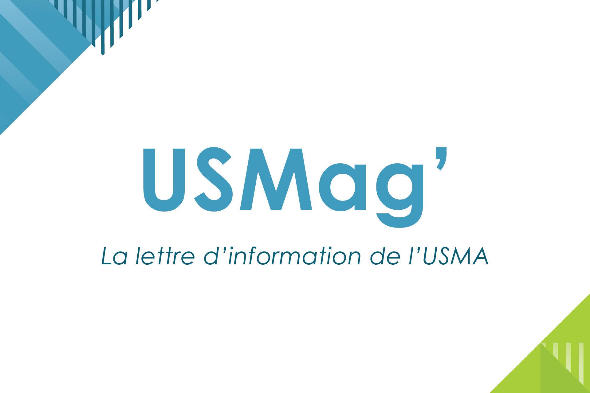 Usmag, lettre d'information de l'USMA